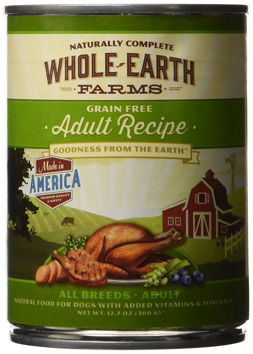 Natural Food for Adult Dogs
