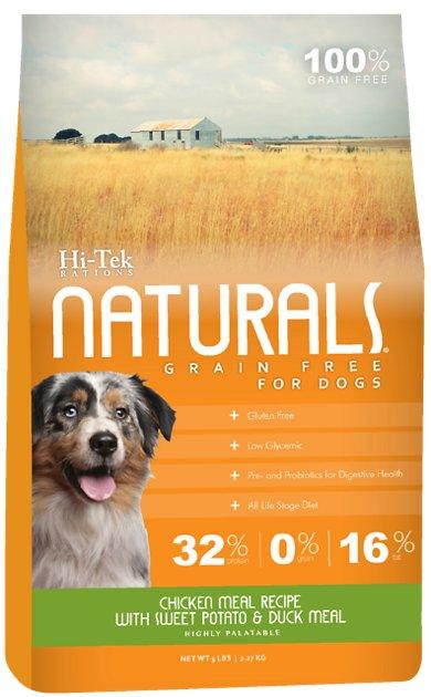 Hi-Tek Naturals dog food