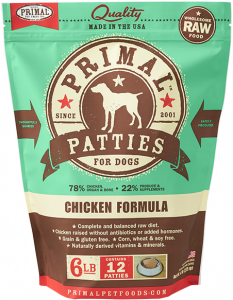 Primal Patties Chicken Formula