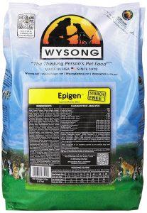 Wysong dog food bag