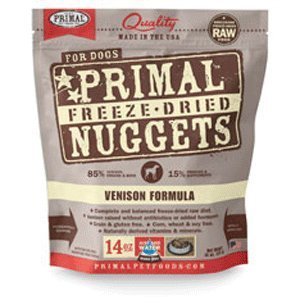 Primal Freeze Dried Venison Dog Food