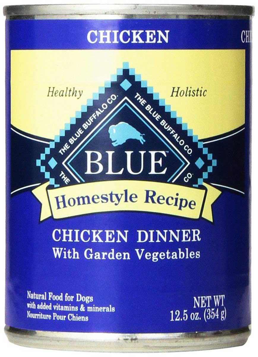Blue Buffalo Homestyle Recipe Chicken Dinner