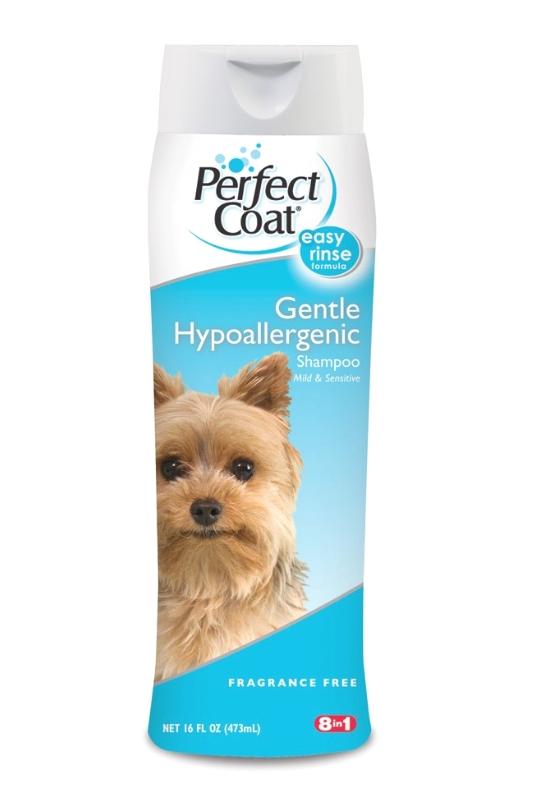 8 in 1 Perfect Coat Gentle Hypoallergenic Shampoo 16oz