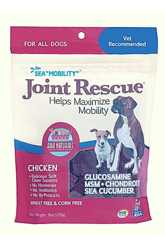 """Ark Naturals Sea """"Mobility"""" Joint Rescue Chicken Jerky Dog Treats, 9-oz bag"""