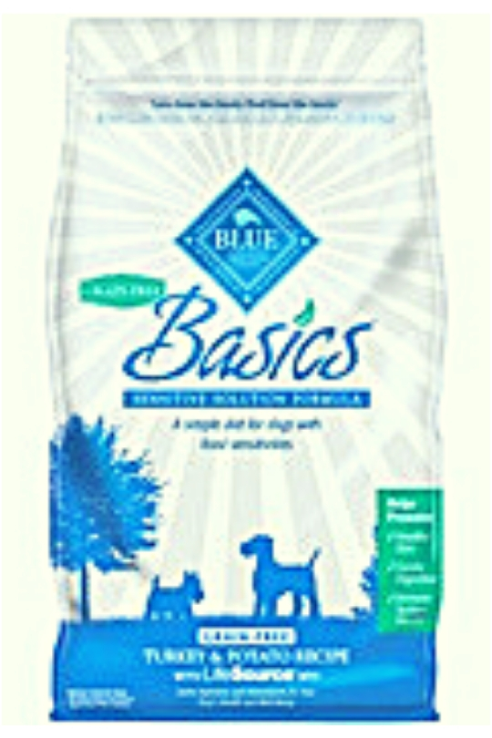 Blue Buffalo Dog Basic Grain-Free Turkey Potato 11 Lbs.
