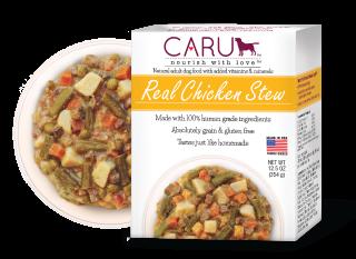 Caru Dog Stew Real Chicken 12.5oz. (Case of 12)