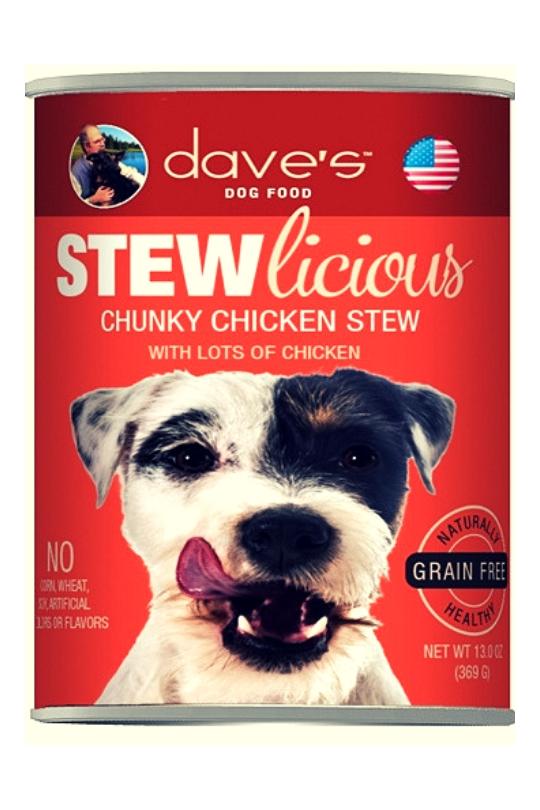 Daves Stewlicious Chunky Chicken Stew Case of 12