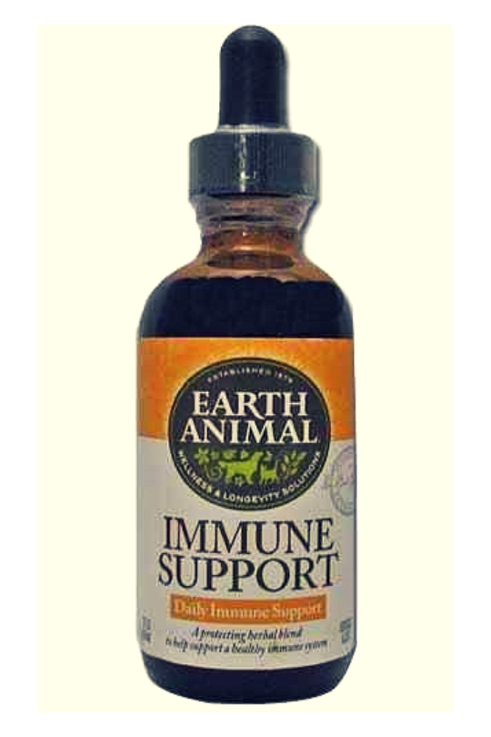 Earth Animal Immune Support Dog Supplement 2oz.