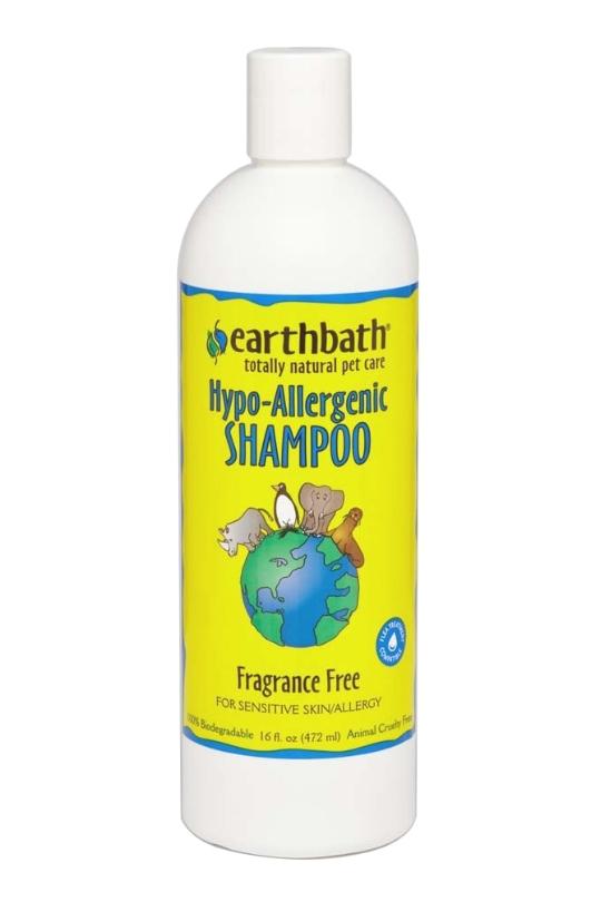 Earthbath Hypo-Allergenic Shampoo 16oz