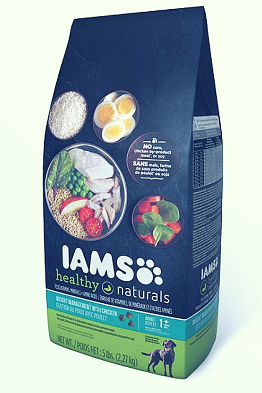 IAMS HEALTHY NATURALS Adult Weight Management With Chicken Dry Dog Food