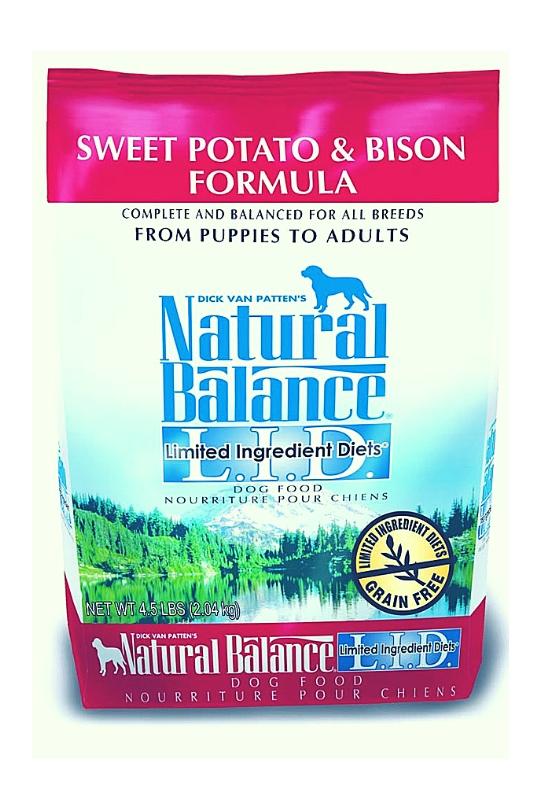 Natural Balance LID Sweet Potato & Bison Dry Dog Food