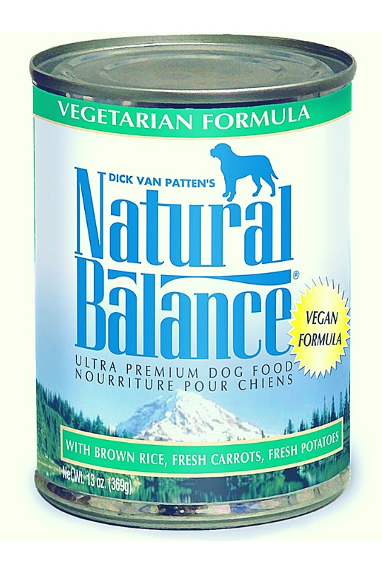 Natural Balance Vegetarian Formula Canned Dog Food 13oz (Case of 12)