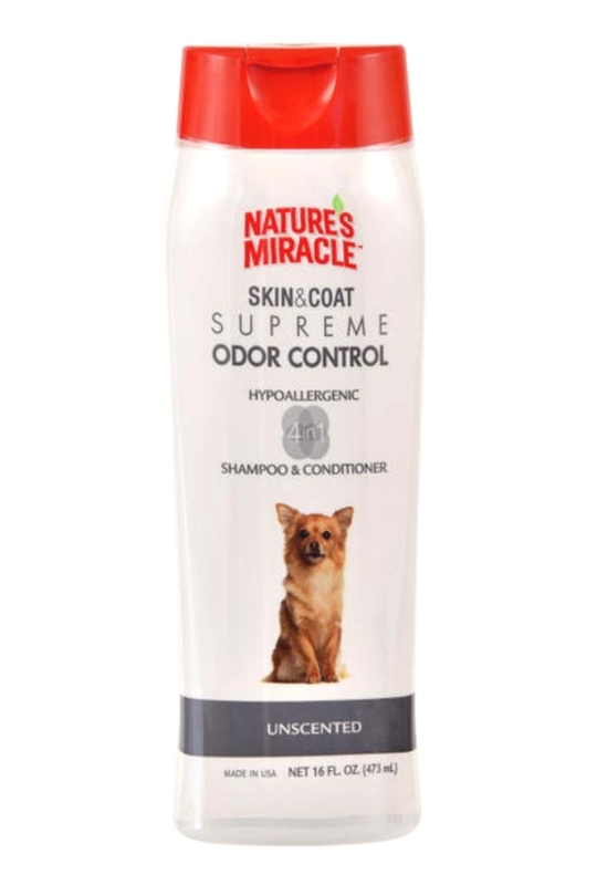 Nature's Miracle Supreme Odor Control Hypoallergenic Shampoo/Conditioner 16oz