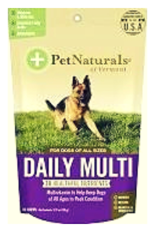 Pet Naturals Of Vermont Dog Daily Multi 30ct