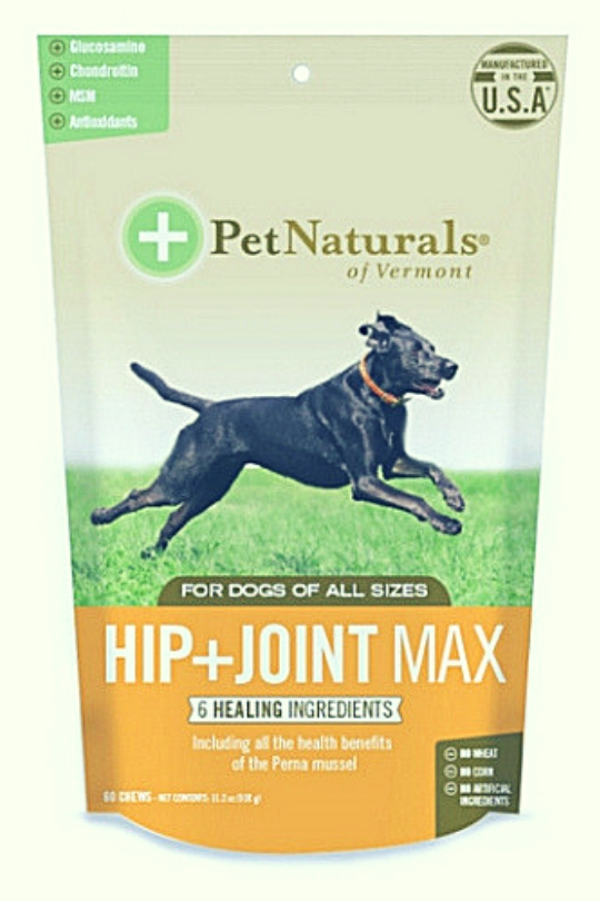 Pet Naturals Of Vermont Dog Max Chewable Hip and Joint 60Ct
