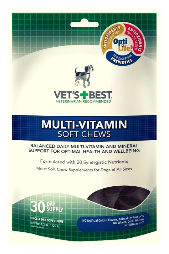 Vet's Best Multi-Vitamins Soft Chews 30ct
