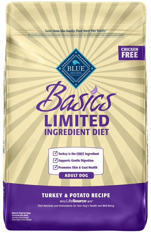 Blue Buffalo Basics Limited-Turkey and Potato for Adult Dogs
