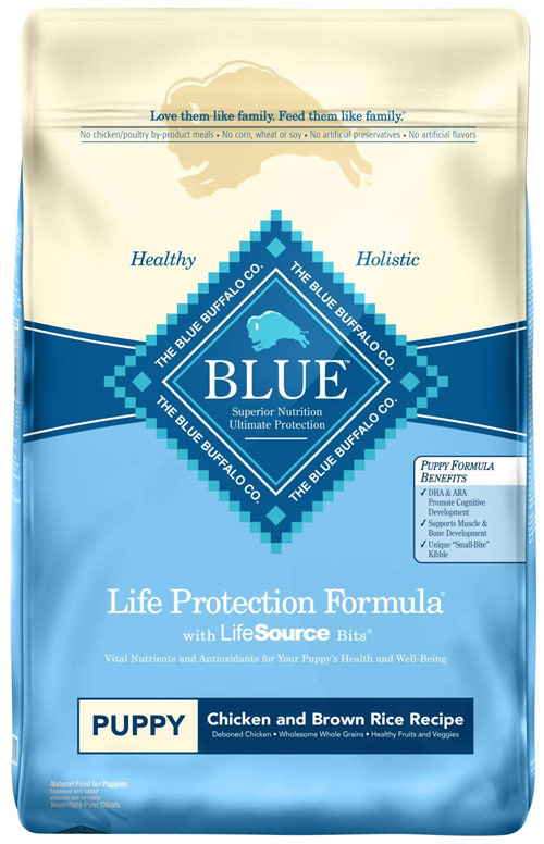 Blue Buffalo Life Protection Chicken and Brown Rice Puppy Food