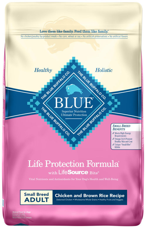 Blue Buffalo Life Protection Chicken and Brown Rice for Small Breed Adult Dogs