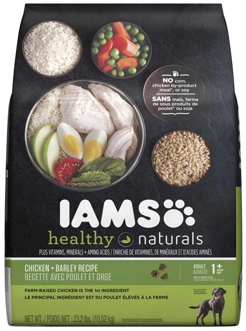 Farm-raised Barley & Chicken Healthy Naturals for Adult Dogs