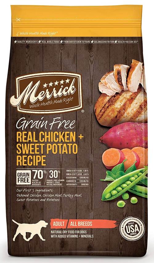 Grain-free Sweet Potato & Real Chicken product