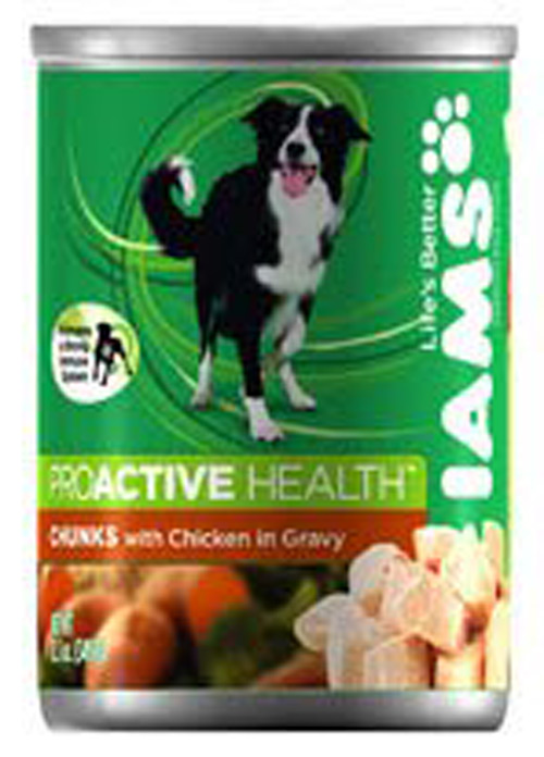 IamsCanned Proactive Chicken in Gravy Chunks for Adult Dogs