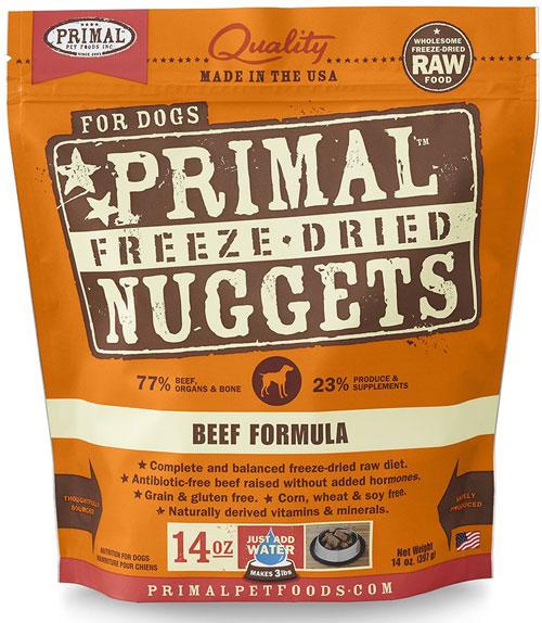 Primal Pet Foods Freeze-Dried Dog Food