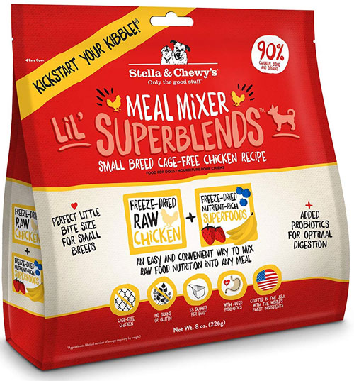 Stella & Chewy's Dog Freeze-Dried Super Blends Meal Mixer