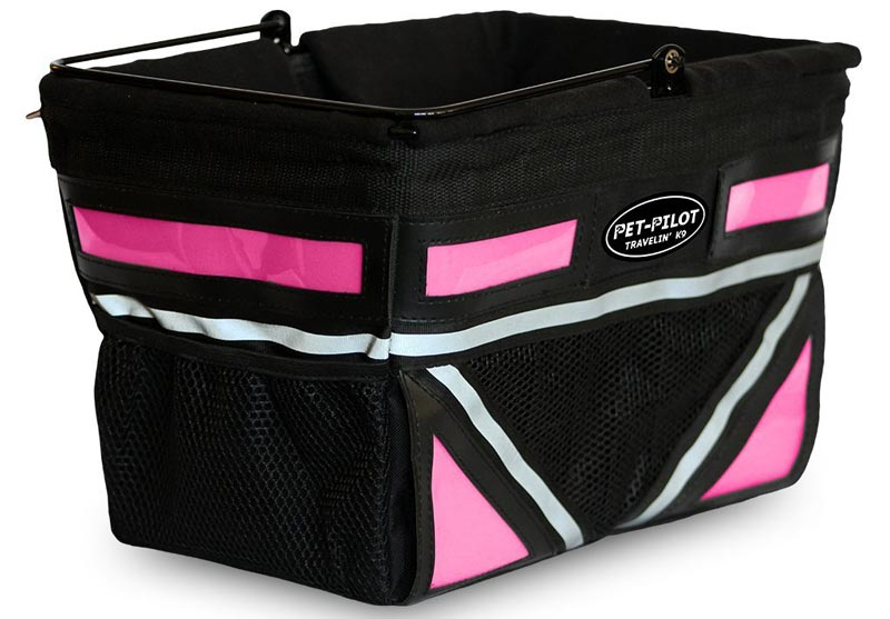 Travelin K9 Dog Bike Basket
