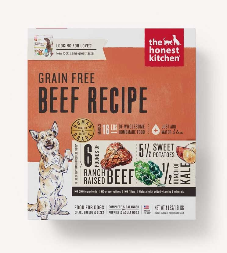 Honest Kitchen Dog Grain Free Beef