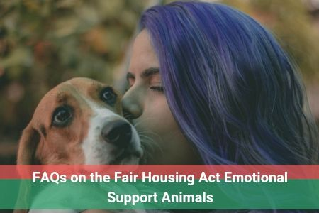 FAQs on the Fair Housing Act Emotional Support Animals