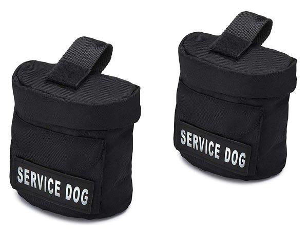 Industrial Puppy Service Dog Harness Saddle Bag