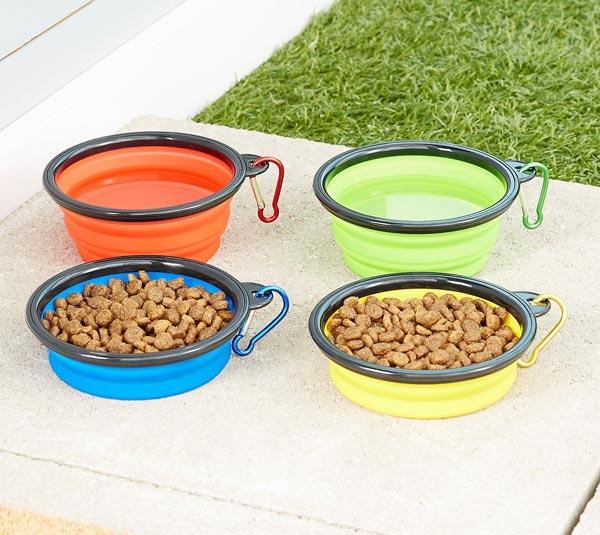 Mr. Peanut's Premium Collapsible Pet Bowls