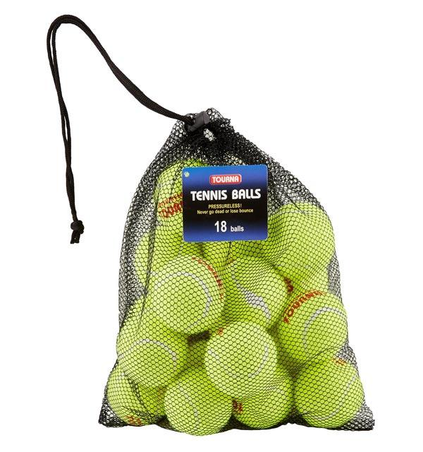 Tourna Pressureless Tennis Balls Dog Toy