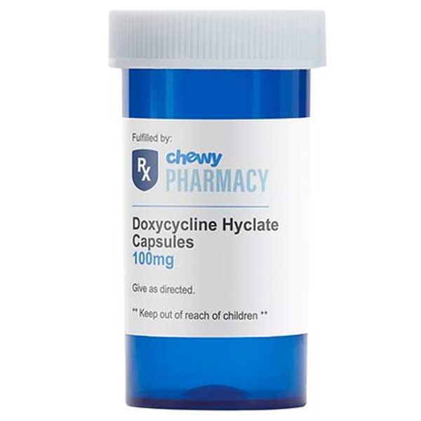 Doxycycline Hyclate (Generic) Capsules
