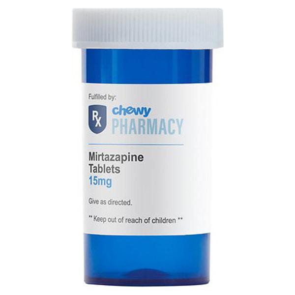 Mirtazapine (Generic) Tablets, 15-mg, 1 tablet