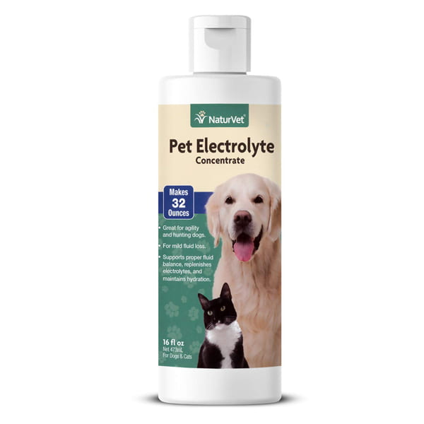 NaturVet – Pet Electrolyte Concentrate for Dogs & Cats