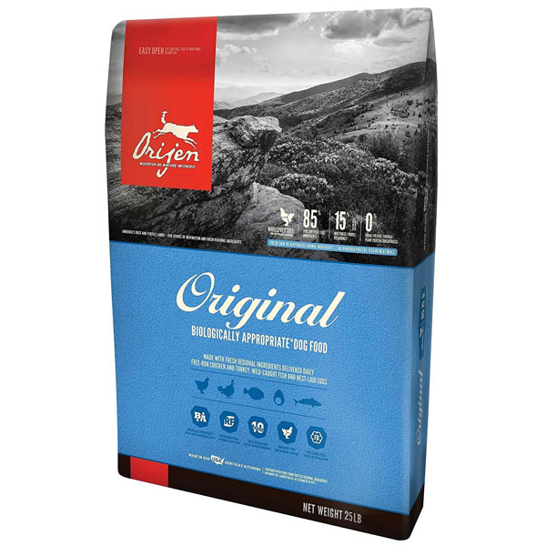 Orijen 25 LB Dry Dog Food, Original Formula