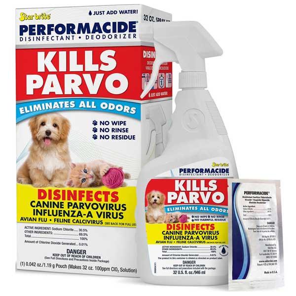Performacide Kills Parvo Disinfectant & Deodorizer Kit