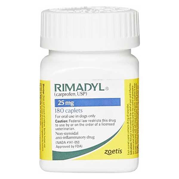Rimadyl (Carprofen) Caplets for Dogs